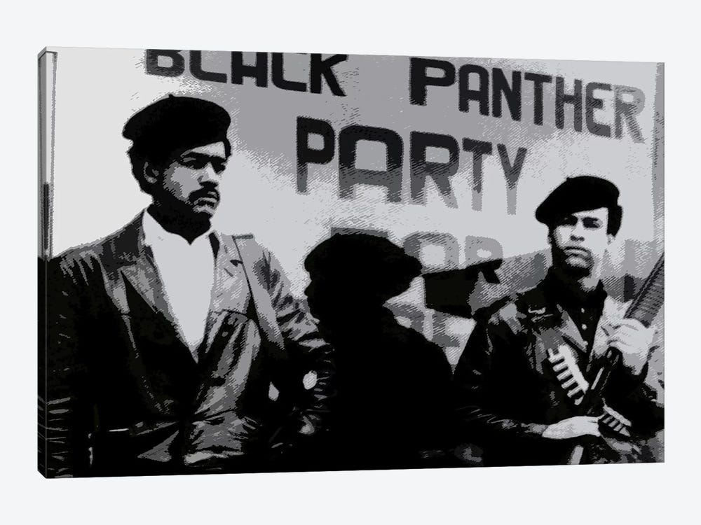 Black Panther Party by Unknown Artist 1-piece Canvas Print