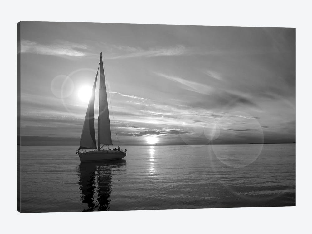 Sailboat 1-piece Canvas Artwork