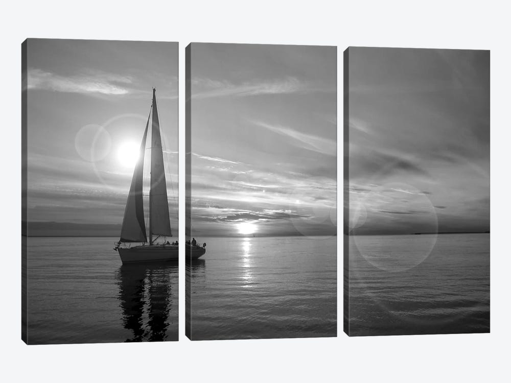 Sailboat 3-piece Canvas Artwork