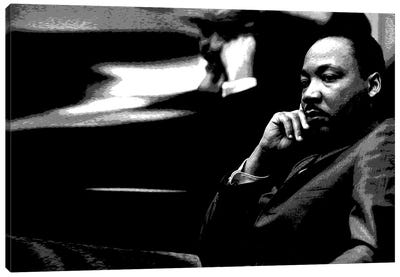 Martin Luther King Canvas Print #293
