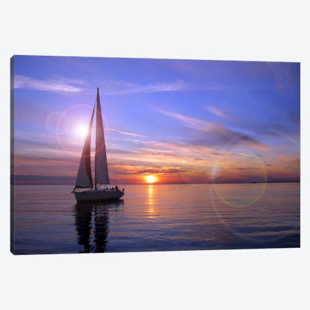 Sailboat Canvas Print #29} Canvas Art Print