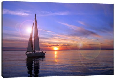 Sailboat Canvas Art Print