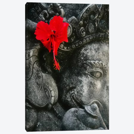 Ganesh Holy Hindu God Statue Canvas Print #2} Canvas Artwork