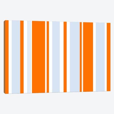 Grand Prix Baby Blue Orange Canvas Print #3000} by iCanvas Canvas Print