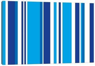 Cobalt Baby Blue Canvas Art Print