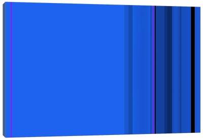 True Blue Canvas Art Print