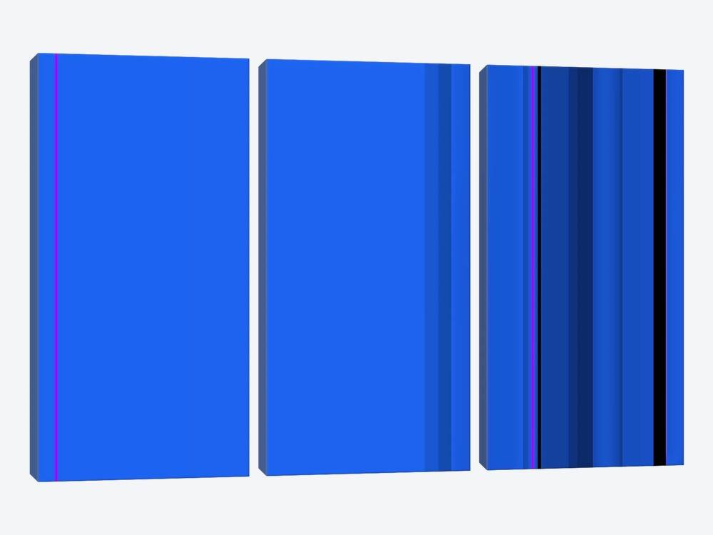 True Blue by iCanvas 3-piece Art Print