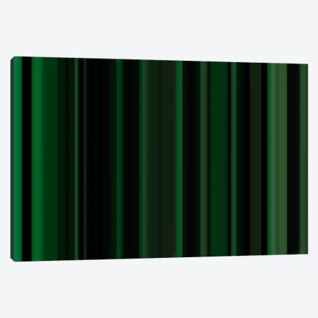 Dark Matrix Green Canvas Print #3006} by iCanvas Canvas Wall Art