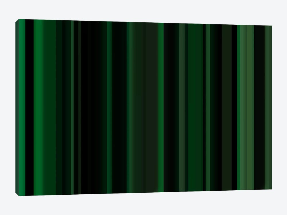 Dark Matrix Green by iCanvas 1-piece Canvas Wall Art