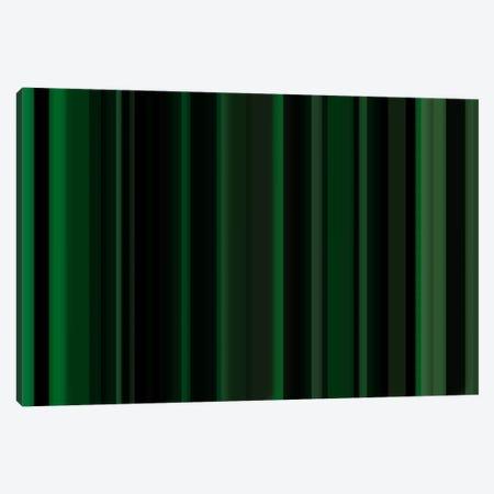 Dark Matrix Green Canvas Print #3006} by iCanvas Canvas Wall Art