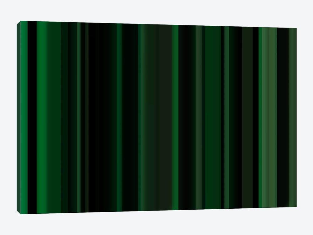 Dark Matrix Green by iCanvas 1-piece Canvas Wall Art