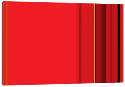 Ferrari Red Canvas Art Print