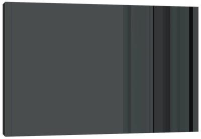 Charcoal Gray Canvas Art Print