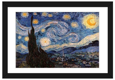 The Starry Night Framed Art Print
