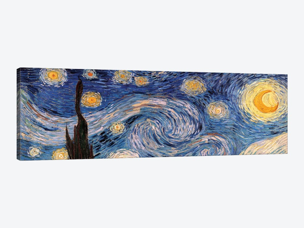 The Starry Night by Vincent van Gogh 1-piece Canvas Art Print