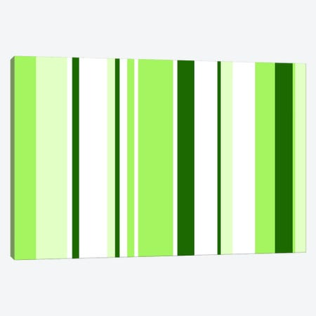 Sour Apple Green Canvas Print #3010} by iCanvas Canvas Art