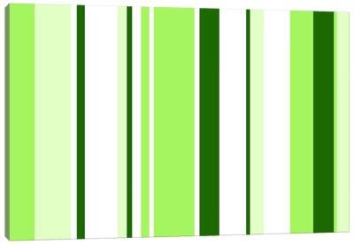 Sour Apple Green Canvas Art Print