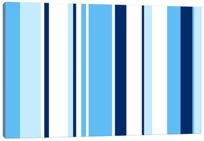 True Baby Blue Canvas Art Print