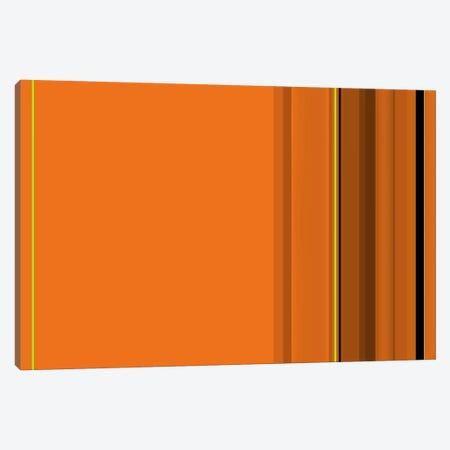 Pumpkin Orange Canvas Print #3016} by iCanvas Art Print
