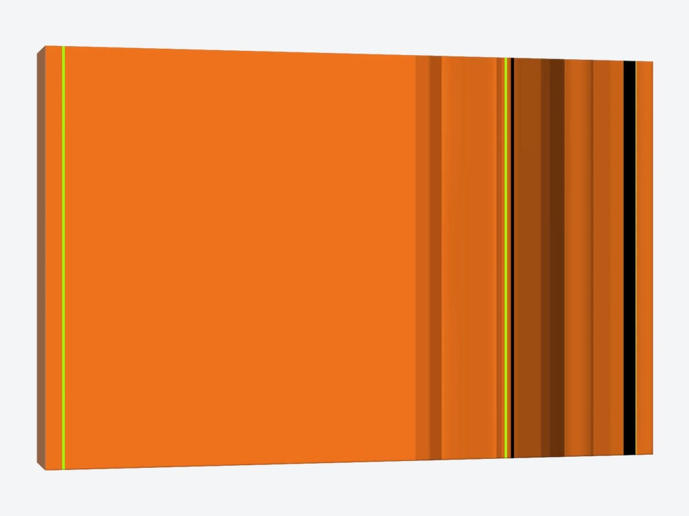 Pumpkin Orange by iCanvas 1-piece Canvas Art Print