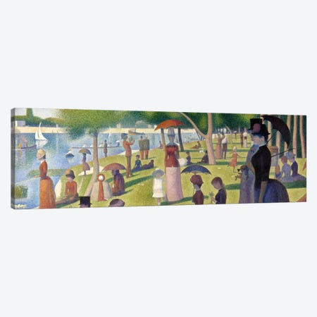 Sunday Afternoon on the Island of La Grande Jatte Canvas Print #301PAN} by Georges Seurat Canvas Artwork