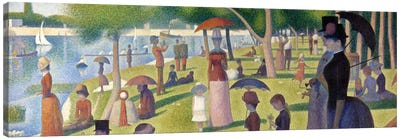 Sunday Afternoon on the Island of La Grande Jatte by Georges Seurat Canvas Artwork