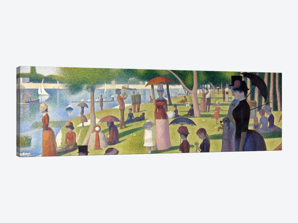 Sunday Afternoon on the Island of La Grande Jatte by Georges Seurat 1-piece Canvas Print