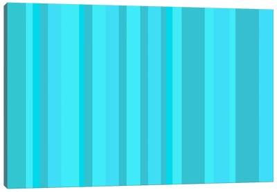 Aqua Torquise Cyan Canvas Print #3025