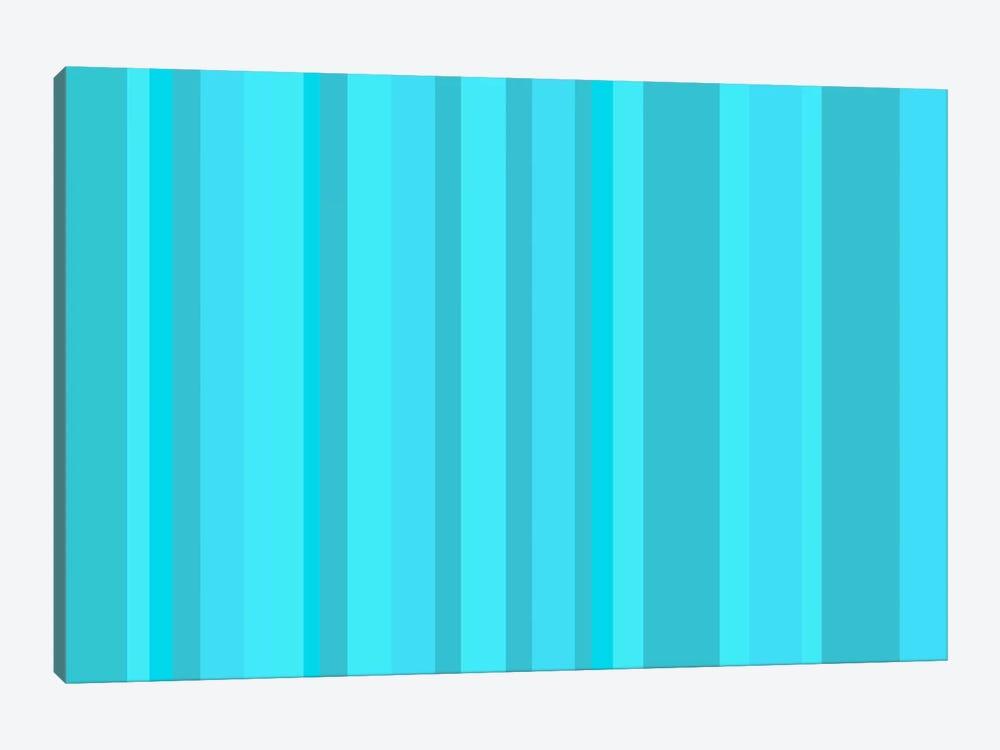 Aqua Torquise Cyan by iCanvas 1-piece Canvas Print