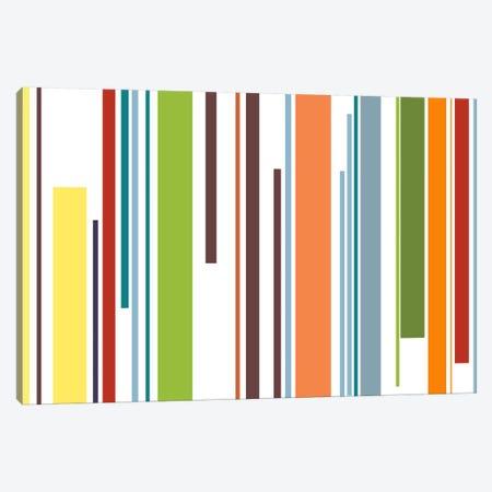 Pastel Piano Keys Canvas Print #3031} by iCanvas Canvas Wall Art