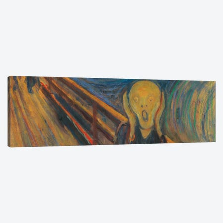The Scream Canvas Print #303PAN} by Edvard Munch Canvas Art Print