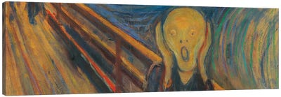 The Scream Canvas Art Print