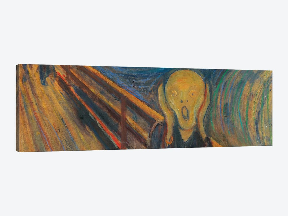 The Scream by Edvard Munch 1-piece Canvas Print