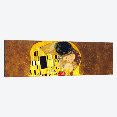 The Kiss Canvas Print #304PAN} by Gustav Klimt Canvas Artwork