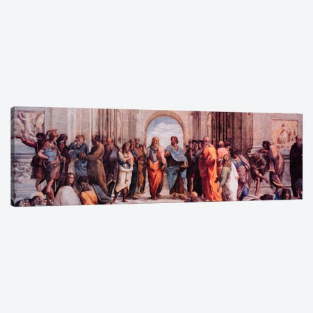 School of Athens Canvas Print #306PAN} by Raphael Canvas Print