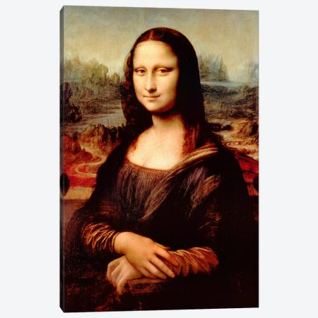 Mona Lisa Canvas Print #307} by Leonardo da Vinci Canvas Artwork