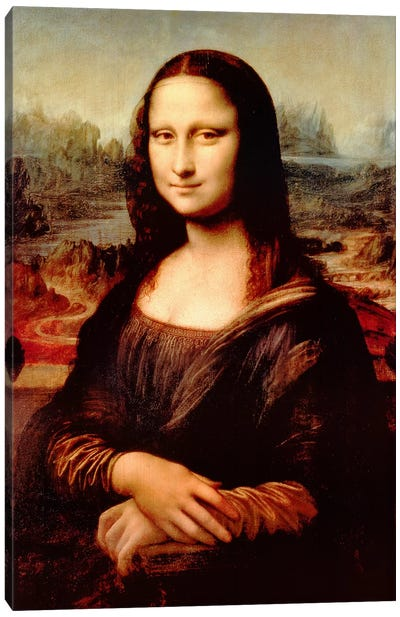 Mona Lisa by Leonardo da Vinci Canvas Artwork