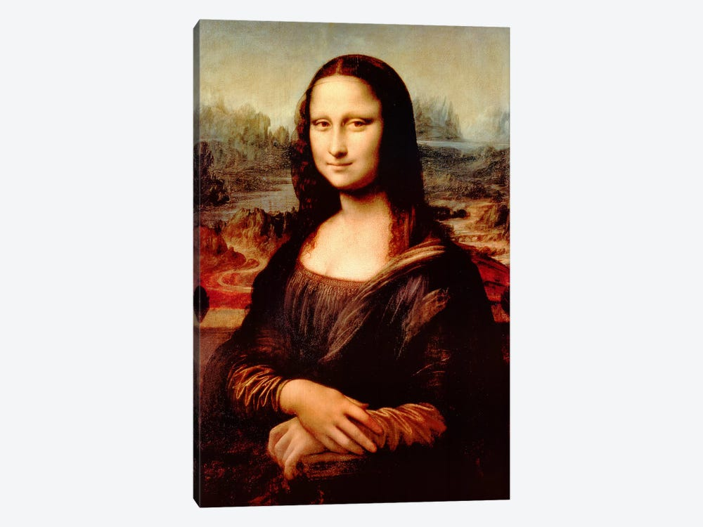 Mona Lisa by Leonardo da Vinci 1-piece Canvas Wall Art