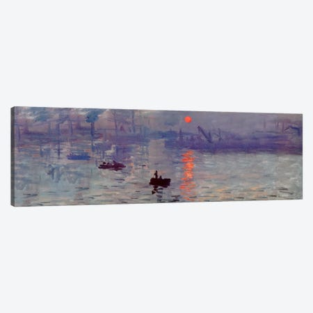 Sunrise Impression Canvas Print #310PAN} by Claude Monet Canvas Print