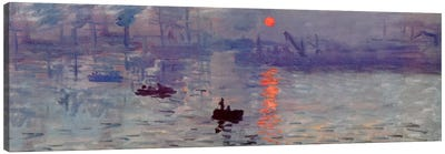 Sunrise Impression by Claude Monet Canvas Print