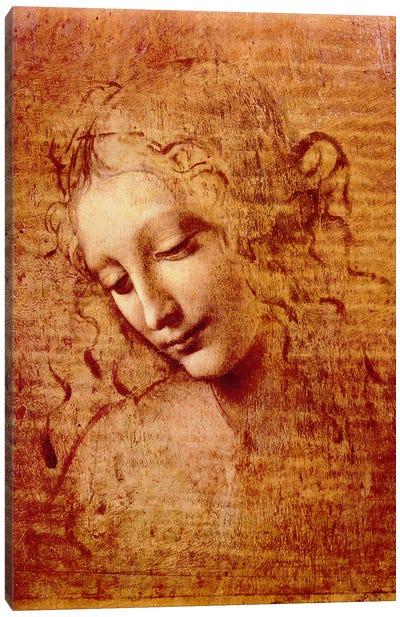 Female Head Canvas Print #317