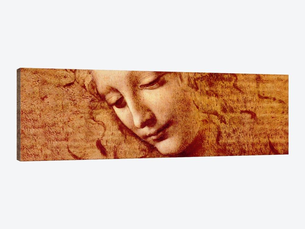 Female Head by Leonardo da Vinci 1-piece Canvas Art