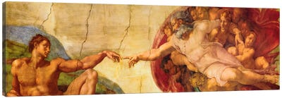 Creation of Adam Canvas Art Print