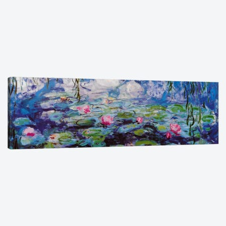 Nympheas Canvas Print #327PAN} by Claude Monet Canvas Wall Art