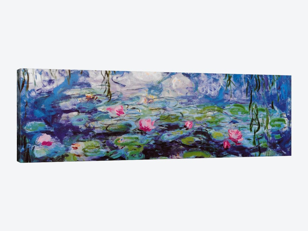 Nympheas by Claude Monet 1-piece Canvas Artwork