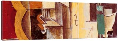 Violin & Guitar Canvas Art Print