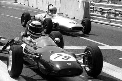 Vintage F1 Race Canvas Wall Art | ICanvas