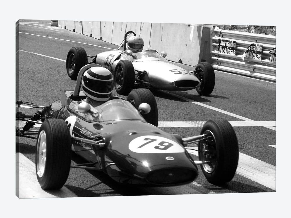 Vintage F1 Race 1 Piece Canvas Artwork