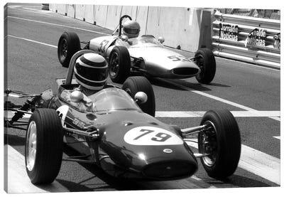 Vintage F1 Race Canvas Art Print