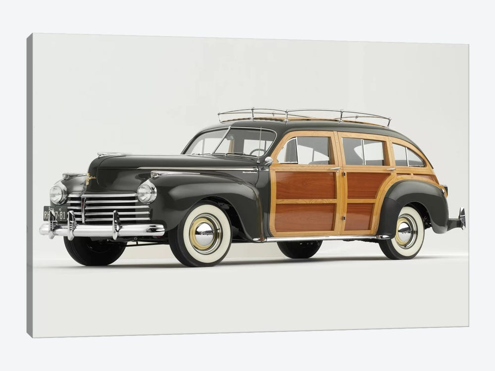1941 Chrysler Town & Country by Unknown Artist 1-piece Canvas Artwork
